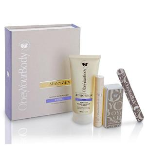 Natural glow nail kit paris- mineraux collection - obey your body