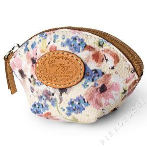 Coin Pouch for Women in Campo dei Fiori Leather - Pierotucci