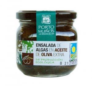 Seaweed salad in olive oil - porto muiños