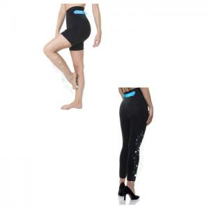 Set of legging and short slimming twice faster with fiber emana lara - lipotherm