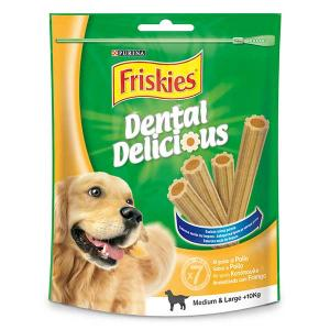 Friskies dental delicious medium and large small chicken 100g - purina