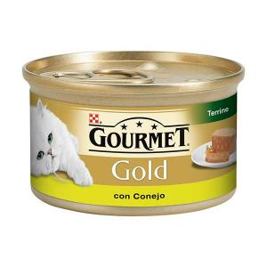 GOURMET GOLD Terrine with Rabbit 85g - Purina