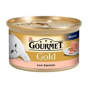 GOURMET GOLD Salmon Mousse 85g - Purina