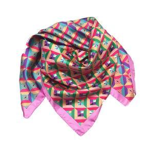 Rosellarama - Newgeo 100% silk twill scarf