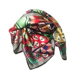 Rosellarama - Sandals 100% silk twill scarf