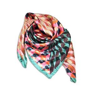 Rosellarama - Clepsydra 100% silk twill scarf