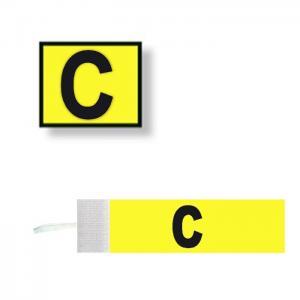Distinctive captain velcro adjustable adult - yellow - atipick