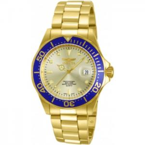 INVICTA Pro Diver Men 40mm Stainless Steel Gold Gold dial PC32A Quartz