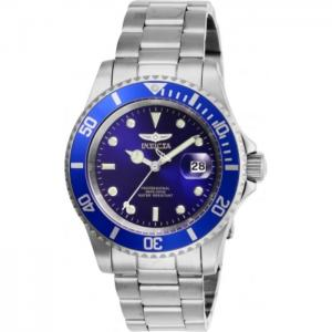 INVICTA Pro Diver Men 40mm Stainless Steel Steel Blue dial PC32 Quartz