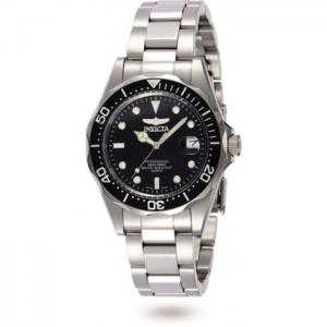 INVICTA Pro Diver Men 37.5mm Stainless Steel Steel Black dial PC32A Quartz