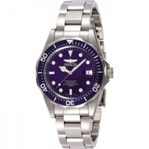 INVICTA Pro Diver Men 37.5mm Stainless Steel Steel Blue dial PC32A Quartz