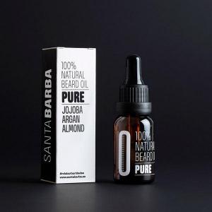 Pure - beard oil nº 0 - santa barba