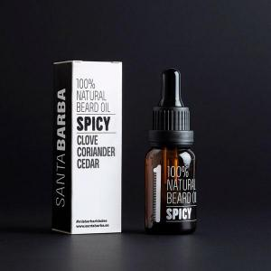 Spicy - beard oil nº 1 - santa barba