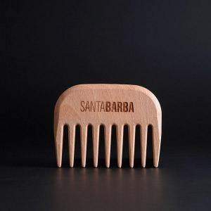 Untangling artisan beard comb - santa barba