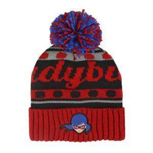 Hat pompon lady bug - cerdá