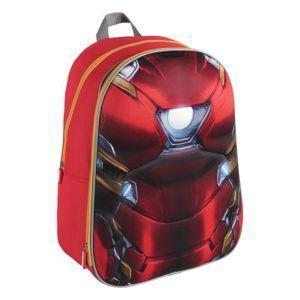 Backpack school 3d captain ame - cerdá