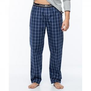 Long, poplin trousers, checked, basix - punto blanco
