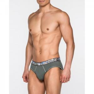 Pack 2 briefs, save the planet - land - punto blanco