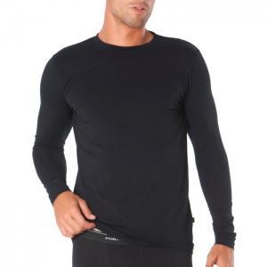 Basix long-sleeve t-shirt - punto blanco