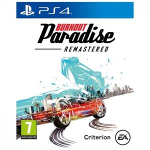 Ps4 burnout paradise remastered game - sony