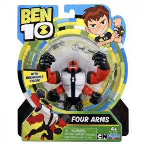 "Ben 10 basic figure 5""four arms 76100-3 - ben10"