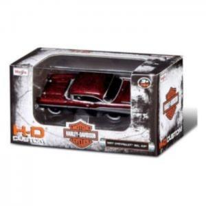 Maisto 15380 1:64 harley davidson custom cars assorted car 24 pcs - color may vary - maisto