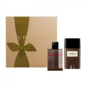 Burberry London Fabric EDT 50ml+75ml Deo Stick Gift Set Men - Burberry