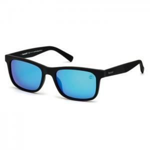 Timberland Full Rim Black Plastic Polarized Men Sunglasses TB914105H55 - Timberland