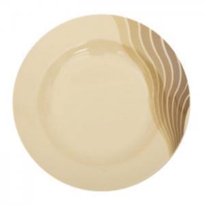"Royalford melamine radiant thai soup plate, 9"" (brown) - royalford"