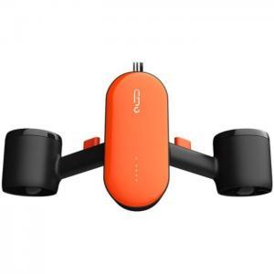Geneinno s2 portable sea scooter orange black - geneinno