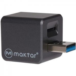Maktar qubiipro backup iphone/ipad grey - maktar