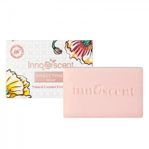 Natural Coconut Soap with Sweet Roses - Innoscent