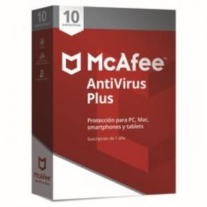Antivirus Mcafee Antivirus Plus 2018 10 - MCAFEE