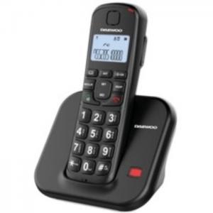 Telefono inalambrico dect daewoo dtd-7200 negro - daewoo electronics