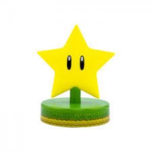 Lampara paladone icon super mario estrella - paladone