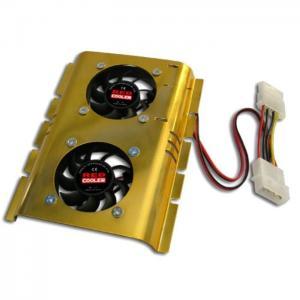 Ventilador doble con disipador disco duro - no definido