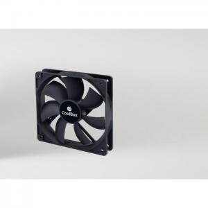 Ventilador auxiliar coolbox 12cm 3 a - coolbox
