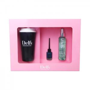 1 cup, 1 nail, 1 fragance black cup, dragon, tomboy - delfy cosmetics