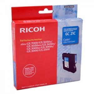Ricoh 405533 - 21c tinta cian - ricoh