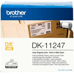 Brother dk-11247 etiquetas 103 x 164mm - brother