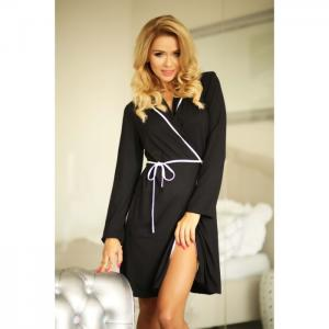 Alegranza dressing-gown black - kalimo