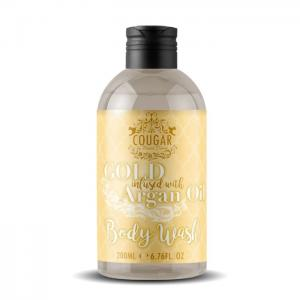 Gold With Argan Oil Body Wash - Cougar Beauty Products