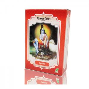 Henna radhe mahogany powder - radhe shyam