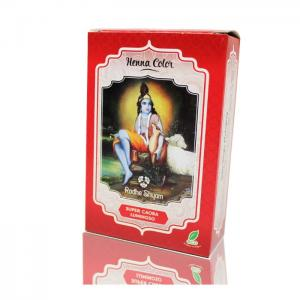 Henna radhe super mahogany luminous powder - radhe shyam