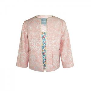 Florence: blossom jacquard jacket - little lord & lady