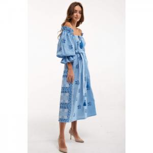 Barvinok lightblue dress - 2kolyory