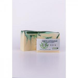 Handmade Aloe Vera soap - Shieko Cosmética Natural