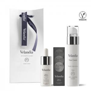 Cosmetic pack woman: facial cream 50ml - serum woman 30ml. - velandia