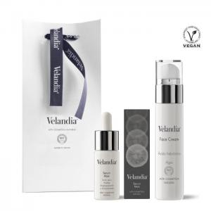 Man Cosmetic Pack: 50 ml facial cream. - Serum Man 30 ml. - Velandia