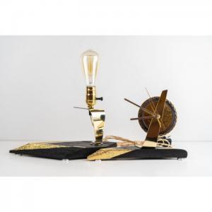 Exclusive set of table lamp & clock 1e - pride&joy